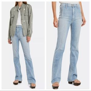 MOTHER The Drama Flare Leg Jeans SIZE 25